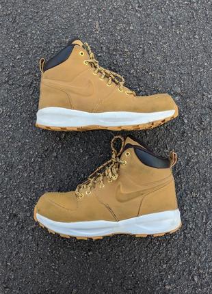 Кожаные ботинки nike оригинал