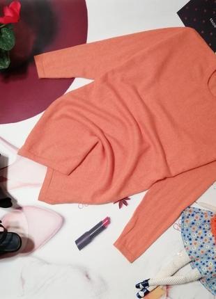 Джемпер-туника оверсайз cashmere centre, 100% натуральный кашемир, размер s/m