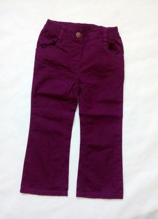 Симпатичные штанишки для девочки lupilu размер 92 1-2 года