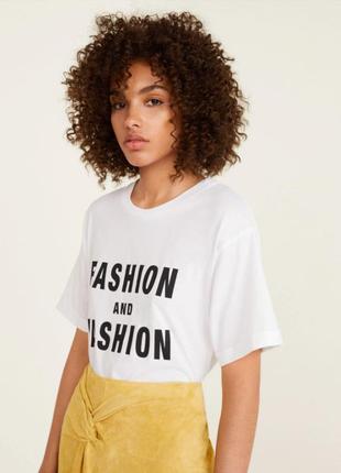Трендова футболка mango s