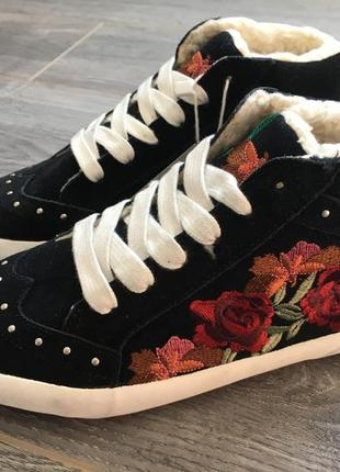 Ботинки, кеды, деми zara