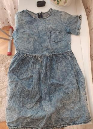 Платье-сарафан под джинс