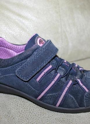 Замшевые кроссовки sommerkind eur 33, стелька 21,5 см