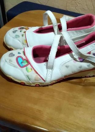 Фирменные туфли - балетки