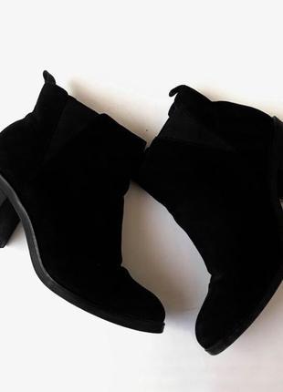 Ботинки осенние, ботильоны на среднем каблуке stradivarius