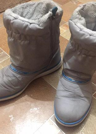 Зимние сапоги adidas warm comfort