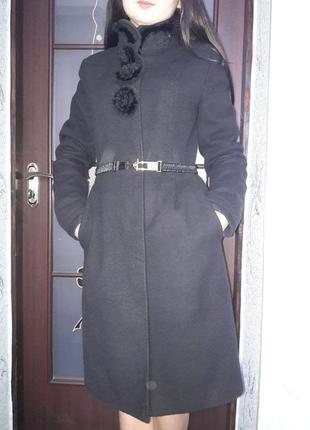 Елегантне кашемірове пальто