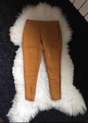Штаны брюки джогеры укороченные летние прогулочные