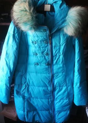 Куртка з натуральним мехом