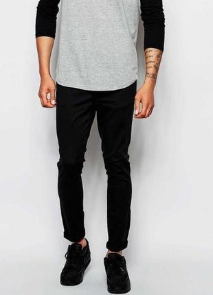 Мужские черные джинсы новые