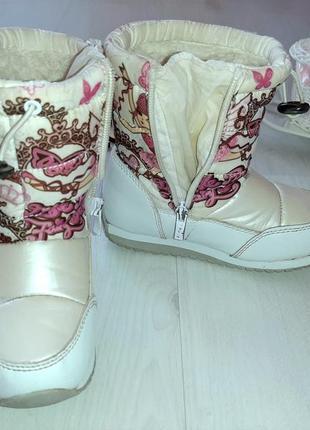 Зимние сапоги ботинки дутики tom.m в подарок