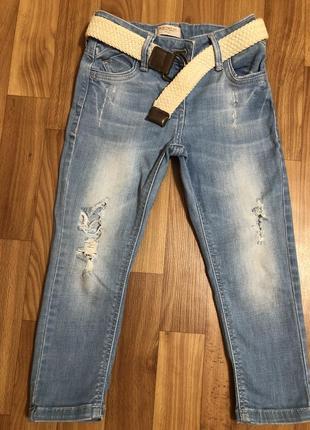 Летние джинсы next