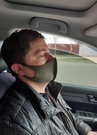 Многоразовые защитные маски питта из неопрена