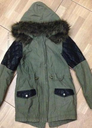 Куртка-парка tammy р-р. 140-146 см. 10-11 лет