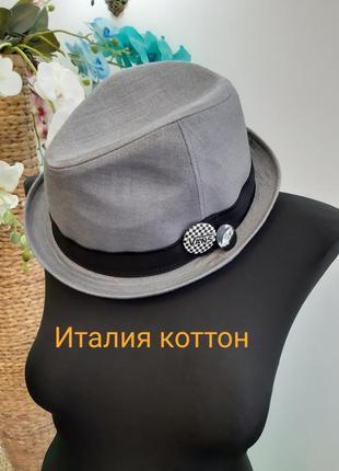 Новая коттоновая шляпа италия