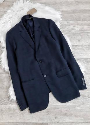 Мужской черный пиджак calvin klein