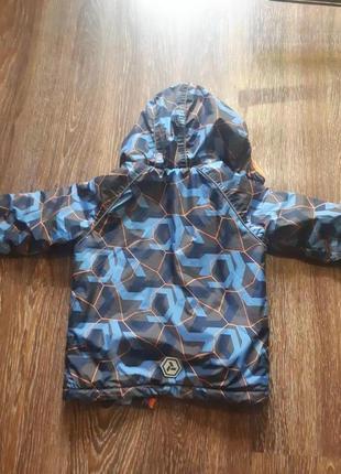 Детская осенняя куртка для мальчика 122см2 фото
