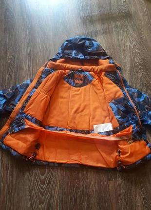 Детская осенняя куртка для мальчика 122см3 фото