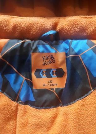 Детская осенняя куртка для мальчика 122см4 фото