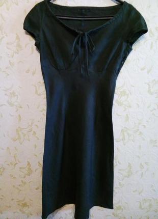 Брендовое платье 100% лен calvin klein 8-10 рр.
