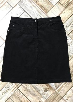 Стильная вельветовая юбка стрейч !!!