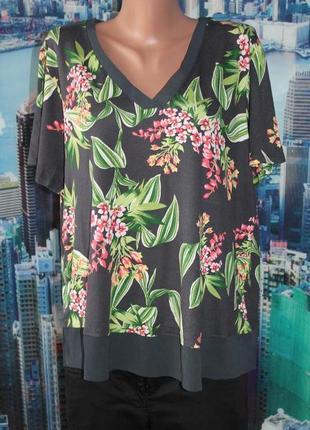 Натуральна футболка блуза