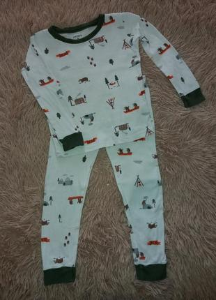 Пижама carter's, 4-5 лет