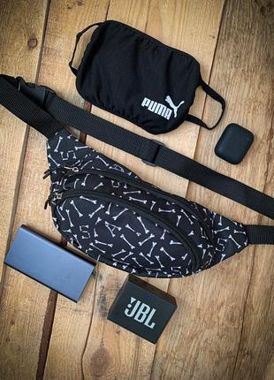 Новая стильная бананка на пояс / поясная сумка / сумка через плечо / кроссбоди