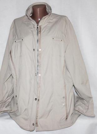 Куртка ветровка бежевая gerry weber 54р