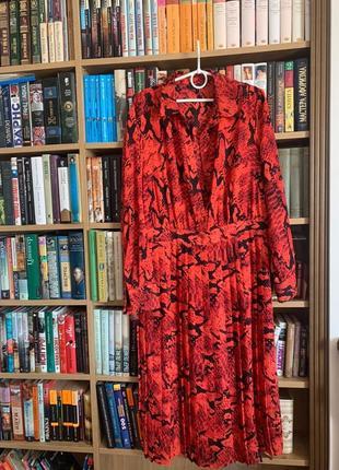 Яркое легкое платье next