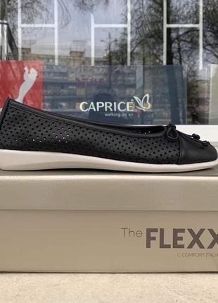 Балетки the flexx италия оригинал. натуральная кожа.