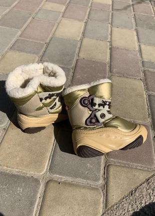 Тёплые зимние ботинки сапоги на меху demar