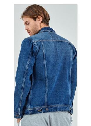 Пиджак vigoss коттонка италия оригинал джинсовый куртка ветровка