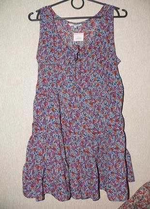 Нежная туника-платье