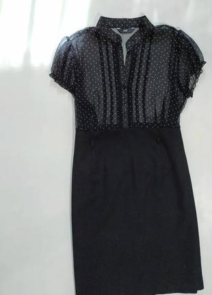 ❤️строгое чёрное платье