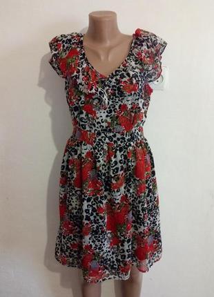 Плаття в квіти( платье с цветочным принтом)