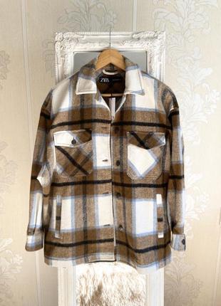 Новая рубашка куртка от zara