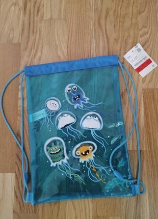 Детская сумка рюкзак для бассейна