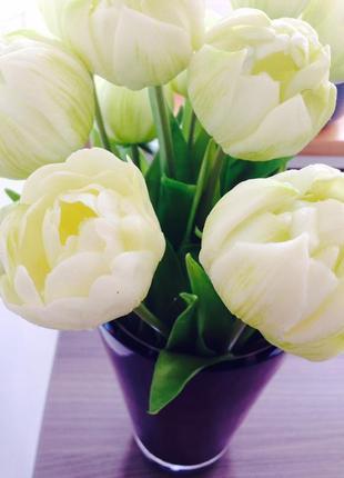 Букет белих тюльпанов от villeroy&boch