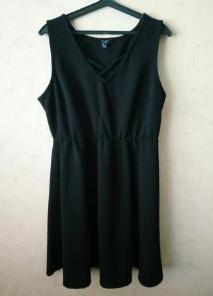 Базовое черное платье от new look