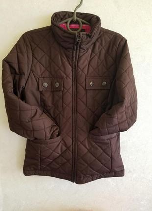 Стеганная куртка ветровка