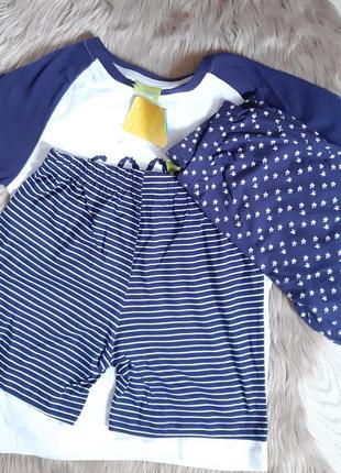 Пижама домашний комплект футболка и двле шорт