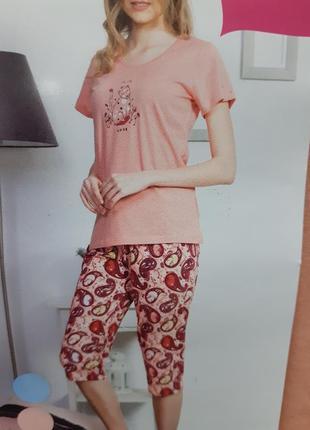 Новая пижама с бриджами.