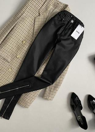 Новые идеальные штаны скинни под кожу sinsay