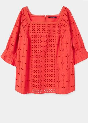 Новая натуральная блузка mango, размер s .