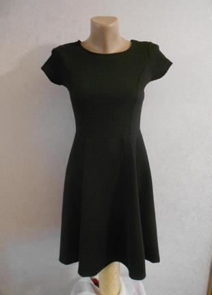 Lc waikiki универсальное черное платье с вырезом на спинке, на 12-14 лет
