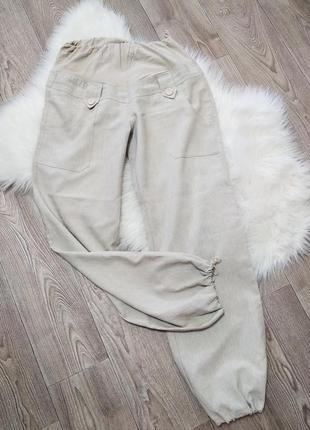 Штаны брюки повседневные для беременных широкие pregnant