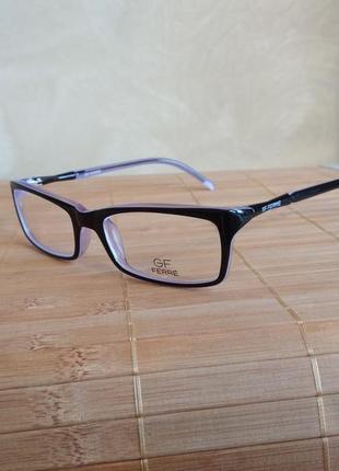 Изящная оправа под линзы женская яркая оригинал gf ferre 256 01 италия  очки