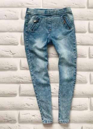 George стильные джинсы на девочку 6-7 лет