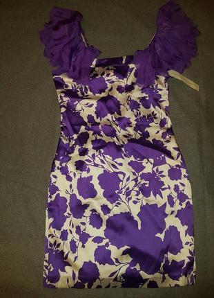 Новое шелковое платье сарафан сукня diane von furstenberg,оригинал (sandro maje fendi